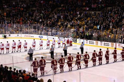 Northeaster Vs Bu Mba by Beanpot Preview And Line Combinations Boston College Vs
