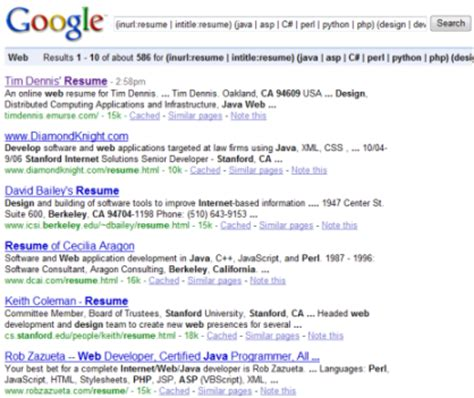 search resume resumes on the vs 2