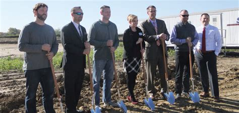 groundbreaking ceremony held for fallbrook assisted living