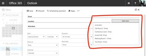 Where Is Calendar In Office 365 How To Add Meeting Room Calendars In Office 365 Robin At