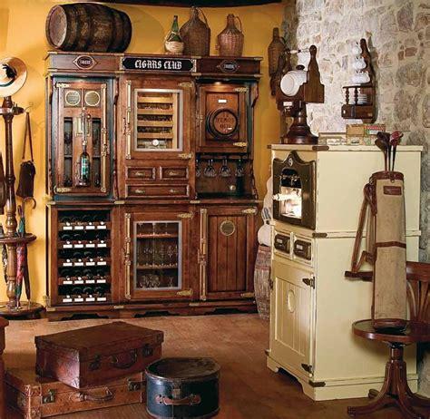 Unique Bar Furniture Unique Cigar And Wine Cabinet With A Humidor