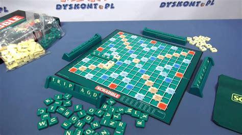 scrabble gra gra scrabble polsko angielskie mattel www