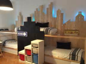 ikea bunk beds hack ikea kura hack triple bunk bed mommo design