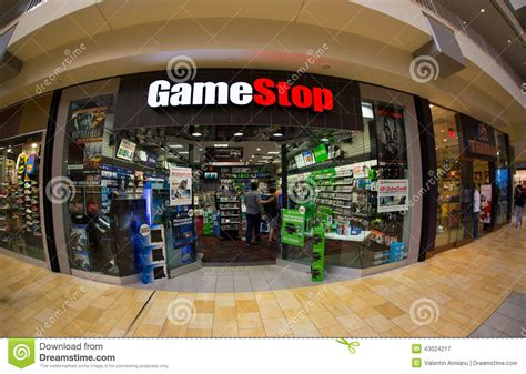 gamestop layout game stop store editorial photography image 43024217