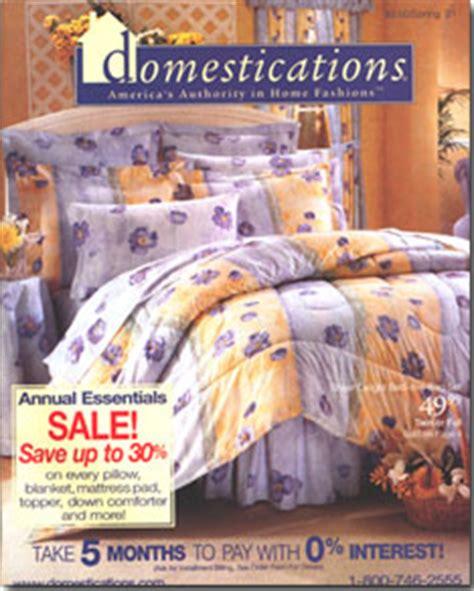 domestications bedding catalog domestications catalog inserts