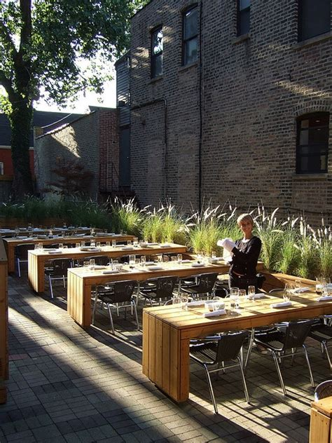 Chicago Restaurants With Outdoor Patios by 18 Best Images About Canteen Ideas On Concrete