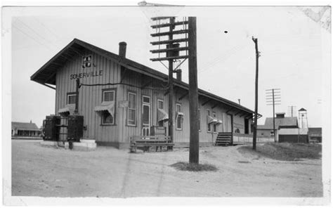 gulf colorado santa fe railway freight depot