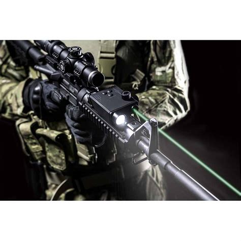 green laser light combo for ar 15 sightmark lopro combo green laser 220 lumen flashlight