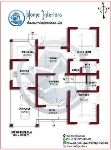 style house plans 2018 2 bedroom house plans kerala style 1200 sq new home plans design