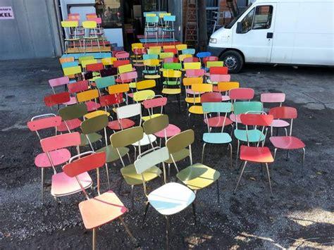 sedie in formica sedie tavoli formica vintage anni 60 70 a reggiolo