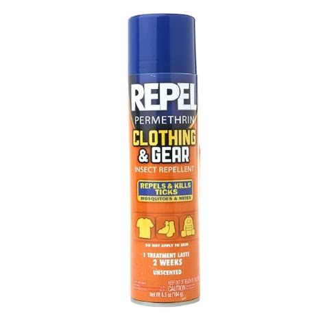 clothing gear insect repellent permethrin 6 5 oz