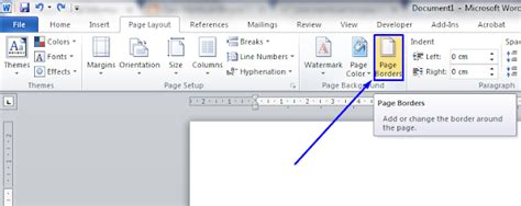cara membuat cerpen di word cara membuat bingkai di ms word mudah keren portal