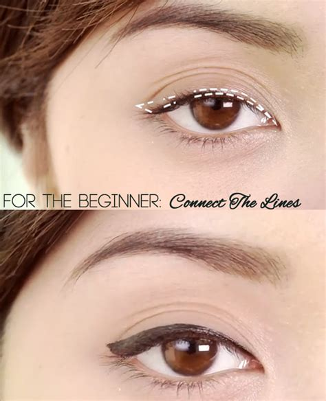 tutorial on eyeliner application new tutorial easy ways to apply liquid liner michelle