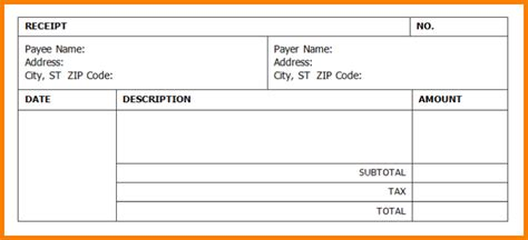 cheque receipt template word receipt template word madinbelgrade