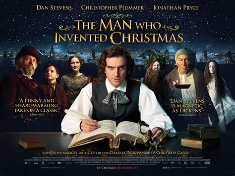 the man who invented the man who invented christmas revealed movie review at why so blu