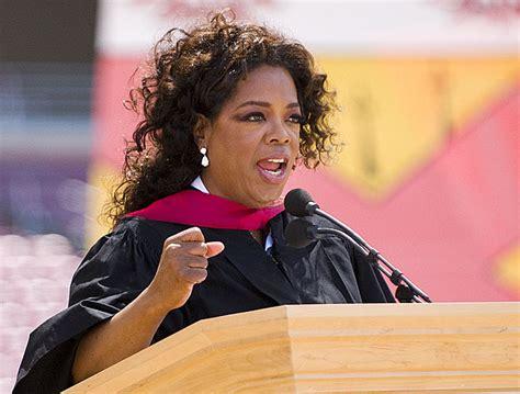oprah winfrey famous speech oprah talks to graduates about feelings failure and