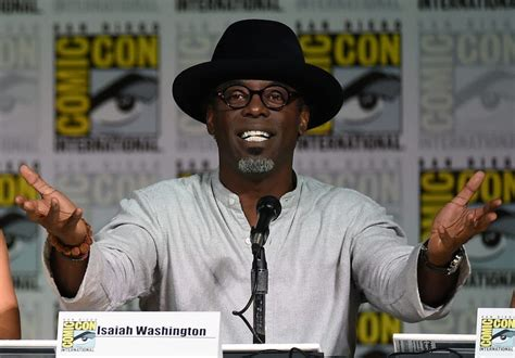 Isaiah Washington Apologizes For Hating by Actors Who Were Fired From Hit Tv Shows