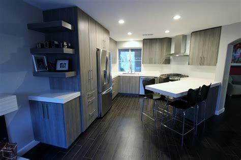 kitchen cabinets santa ana ca santa ana modern gray u shaped kitchen remodel with sophia