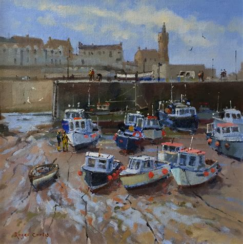 rc boats cornwall roger curtis harbour boats porthleven customs house