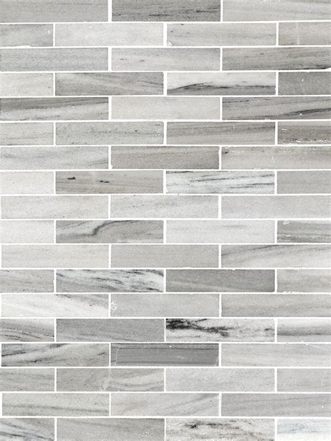 modern subway tile modern white gray subway marble backsplash tile