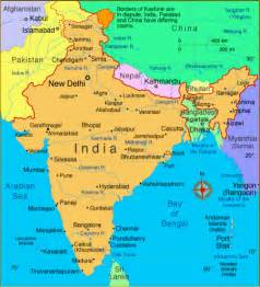 India On The Map by Map Of India Read About India And View India Map