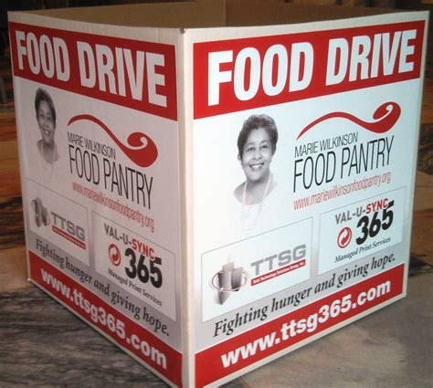 Helping In His Name Food Pantry by Food Drive For Wilkinson Food Pantry Community