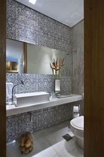 Luxury Powder Room Designs - moderne badezimmer fliesen 25 ideen f 252 r badgestaltung