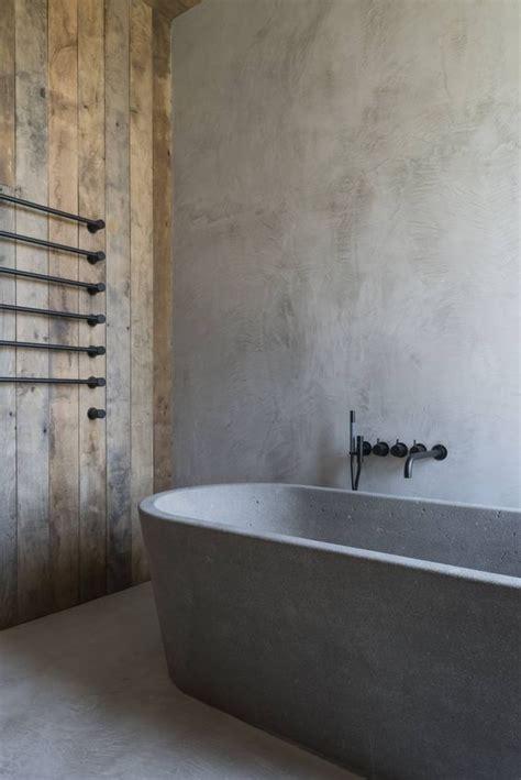 vasca da bagno in pietra effetto pietra per il bagno di tendenza