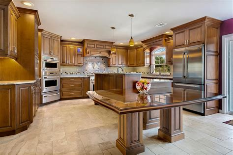 kitchen cabinets brick nj stunning cherry kitchen brick new jersey by design line