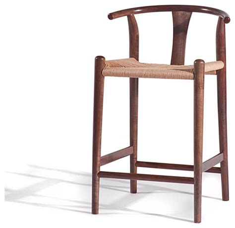 Where To Get Bar Stools Xian Counter Stool Medium Walnut Midcentury Bar