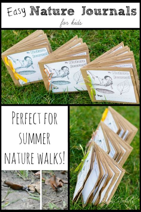 How To Make A Journal Out Of Paper - science nature journals for writing
