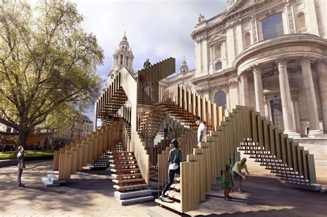 designboom london endless stair by drmm at london design festival 2013