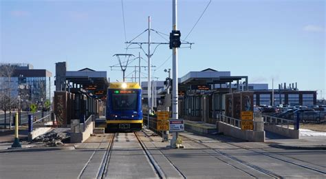 Minneapolis Light Rail Green Line by Getting To The And More On The Green Line Metro Transit