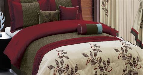 bedroom in a bag with curtains bed in a bag 7 or 11 piece set 3 color schemes option