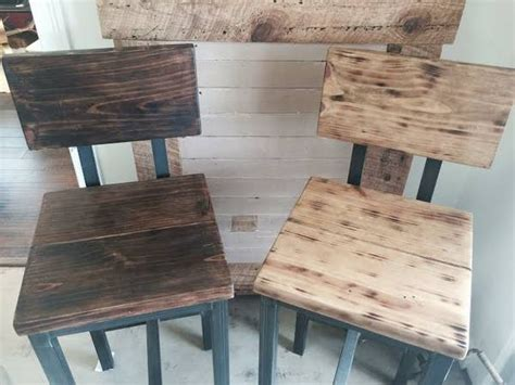 reclaimed wood bar stools distressed reclaimed wood bar stool