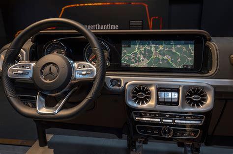mercedes benz g class interior 2019 mercedes benz g class teased ahead of detroit debut