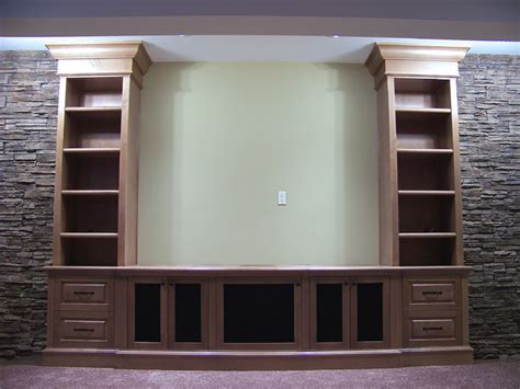 Media Room Wall Sconces Front Projection Media Cabinets Traditional Home