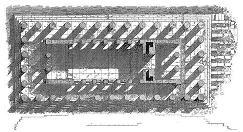 greek temple floor plan floor plan perspective of greek built temple of concordia agrigento sicily italy ca 430bc