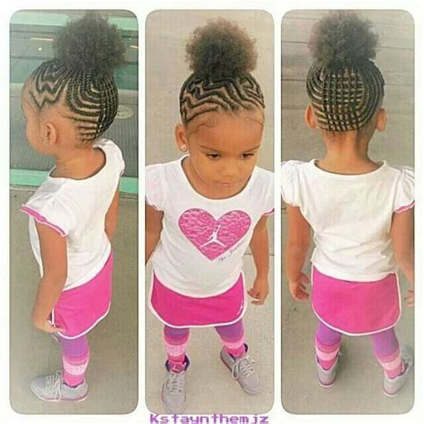 short braided style for babies cutie with braided pineapple 9 little girls and their