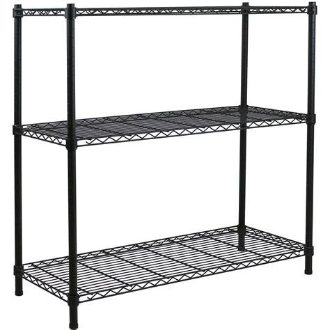 3 Tier Rack Shelf by 3 Tier Metal Storage Rack Shelving Book Shelf Kitchen