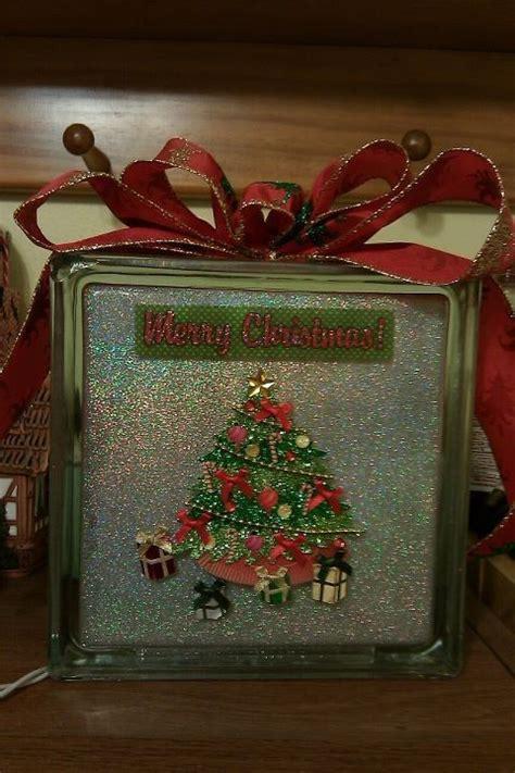 decorative glass block decorative glass glass blocks and merry christmas on