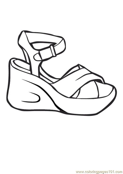 Nike Air Forces Shoes Coloring Pages Shoe Coloring Pages