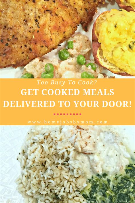 Prepared Meals Delivered To Your Door by Busy To Cook Get Cooked Meals Delivered To Your Door