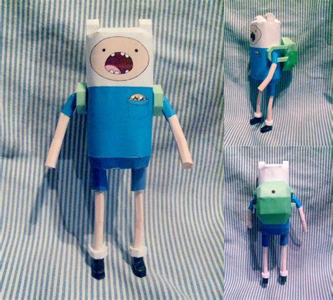 Adventure Time Paper Crafts - adventure time papercraft finn by hklovesboba on deviantart