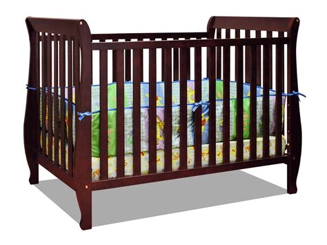 Safest Cribs by Athena 4 In 1 Crib With Toddler Rail Is It The