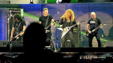 i bid live metallica am i evil live w the big 4 the big 4 live