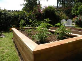 Garden In A Box Building Vegetable Boxes For A Garden California