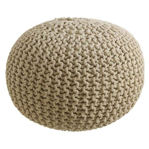 knitted pouffe uk large knitted pod pouffe from next fresh contemporary