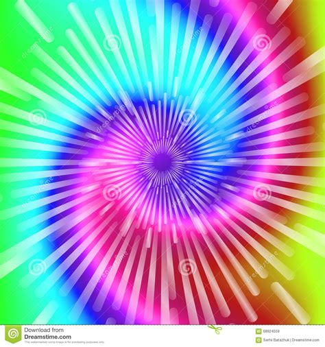tie color tie dye colors beautiful realistic spiral tie dye vector