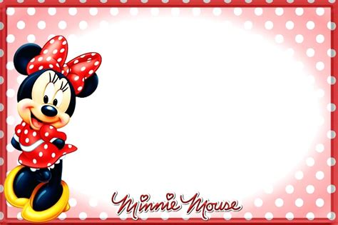 minnie mouse card templates template minnie mouse birthday card template
